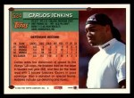 1994 Topps #524  Carlos Jenkins  Back Thumbnail
