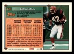 1994 Topps #476  Eric Ball  Back Thumbnail