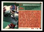 1994 Topps #607  Russell Freeman  Back Thumbnail