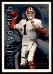 1995 Topps #36  Jeff George  Front Thumbnail