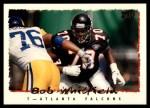 1995 Topps #43  Bob Whitfield  Front Thumbnail