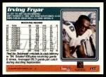 1995 Topps #115  Irving Fryar  Back Thumbnail