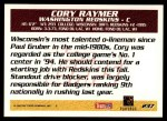 1995 Topps #237  Cory Raymer  Back Thumbnail
