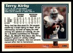 1995 Topps #186  Terry Kirby  Back Thumbnail