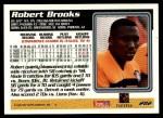 1995 Topps #282  Robert Brooks  Back Thumbnail