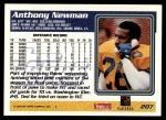 1995 Topps #207  Anthony Newman  Back Thumbnail
