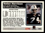 1995 Topps #195  Nolan Harrison  Back Thumbnail