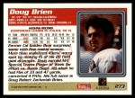 1995 Topps #273  Doug Brien  Back Thumbnail
