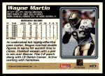 1995 Topps #163  Wayne Martin  Back Thumbnail