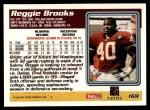 1995 Topps #169  Reggie Brooks  Back Thumbnail
