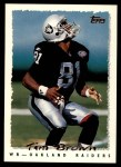 1995 Topps #310  Tim Brown  Front Thumbnail