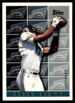 1995 Topps #454  Derek Brown  Front Thumbnail