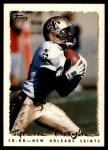 1995 Topps #390  Tyrone Hughes  Front Thumbnail