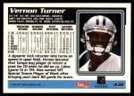 1995 Topps #438  Vernon Turner  Back Thumbnail