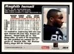 1995 Topps #364  Rocket Ismail  Back Thumbnail