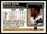 1995 Topps #361  Quinn Early  Back Thumbnail
