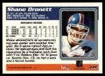 1995 Topps #339  Shane Dronett  Back Thumbnail
