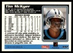 1995 Topps #442  Tim McKyer  Back Thumbnail