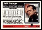 1995 Topps #401  Jeff George  Back Thumbnail