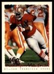 1995 Topps #412  Dana Stubblefield  Front Thumbnail