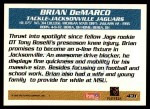 1995 Topps #431  Brian DeMarco  Back Thumbnail