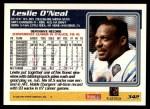 1995 Topps #342  Leslie O'Neal  Back Thumbnail