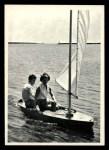 1964 Topps JFK #72   JFK & Jackie Relax On Trip Front Thumbnail