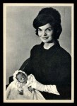 1964 Topps JFK #63   Jackie Poses With Son John Jr. Front Thumbnail
