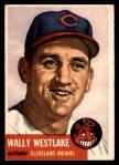 1953 Topps #192  Wally Westlake  Front Thumbnail