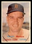 1957 Topps #223  Frank House  Front Thumbnail