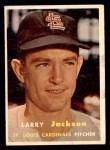 1957 Topps #196  Larry Jackson  Front Thumbnail