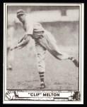 1940 Play Ball Reprint #83  Cliff Melton  Front Thumbnail