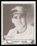 1940 Play Ball Reprint #9  Charlie Keller  Front Thumbnail