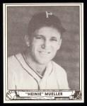 1940 Play Ball Reprint #96  Heinie Mueller  Front Thumbnail