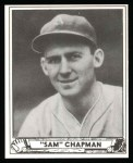 1940 Play Ball Reprint #194  Sam Chapman  Front Thumbnail