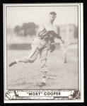 1940 Play Ball Reprint #113  Mort Cooper  Front Thumbnail