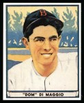 1941 Play Ball Reprint #63  Dom DiMaggio  Front Thumbnail