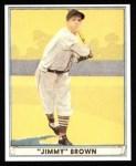 1941 Play Ball Reprint #12  Jim Brown  Front Thumbnail