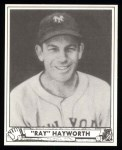 1940 Play Ball Reprint #155  Ray Hayworth  Front Thumbnail