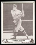 1940 Play Ball Reprint #38  Bobby Doerr  Front Thumbnail