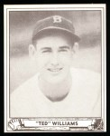 1940 Play Ball Reprint #27  Ted Williams  Front Thumbnail