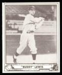 1940 Play Ball Reprint #20  Buddy Lewis  Front Thumbnail