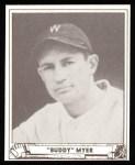 1940 Play Ball Reprint #17  Buddy Myer  Front Thumbnail