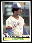1979 Topps #344  Jerry Royster  Front Thumbnail