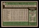 1979 Topps #514  Mike Proly  Back Thumbnail