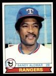 1979 Topps #144  Sandy Alomar  Front Thumbnail