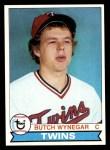 1979 Topps #405  Butch Wynegar  Front Thumbnail