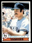 1979 Topps #365  Sparky Lyle  Front Thumbnail