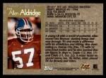 1996 Topps #159  Allen Aldridge  Back Thumbnail