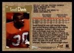 1996 Topps #48  Terrell Davis  Back Thumbnail